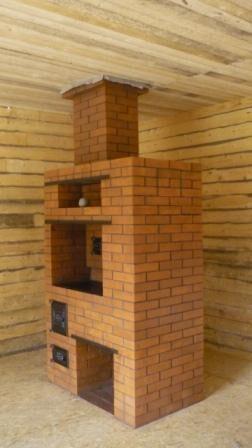 Печи в деревянных домах фото
